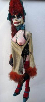 Jenny Striptease. Foto: Theater Arlequin Wien., Christine Rothstein
