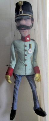 Leutnant Gustl. Foto: Theater Arlequin Wien, Christine Rothstein