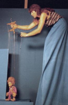 Christine Rothstein mit Tobias in der Bluebox
