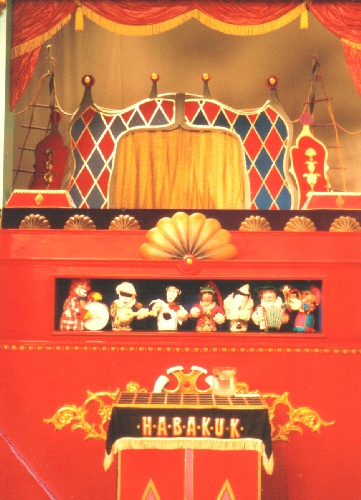 Theater Arlequin Wien TV-Kasperlbühne von Habakuk, Arminio Rothstein. Foto: Theater Arlequin Wien
