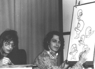 Armino Rothstein und DI Gerald Meloun