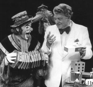 """Betthupferln """"Der Zauberkasten """" mit Bobby Lugano, Habakuk und dem Vogel Moritz"""