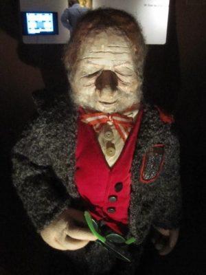 Bruno Kreisky - Puppe gefertigt von Arminio Rothstein