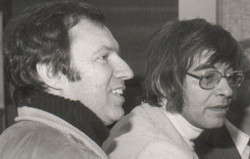 Franz Josef Billisch und Arminio Rothstein