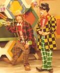 Der Dumme August (Arminio Rothstein) und Clown Enrico (Heinz Zuber)