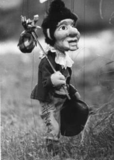 Marionette Hans Wurst
