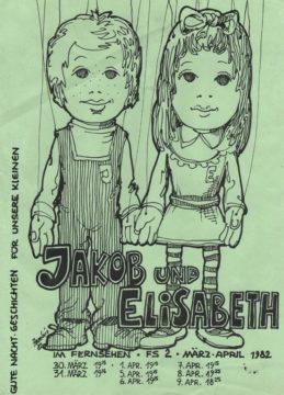 Jakob und Elisabeth: Arminio Rothsteins Vorankündigung