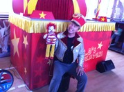 Fredi Schwarz, Moderator und Puppenspieler mit Ronald