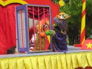 Ronald überlistet die böse Zauberin Tantafix