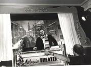"""Luciano Pavarotti in der Kulisse """"Venedig im Schnee"""""""