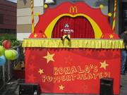 Mit unserer McDonald's-Bühne unterwegs im Sommer 2010 und 2011!