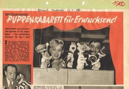 Puppenkabarett für Erwachsene - Picca und Arminio Rothstein