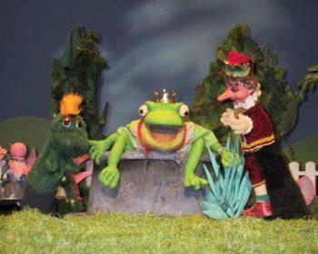 Kasperl und Buffi finden den Froschkönig