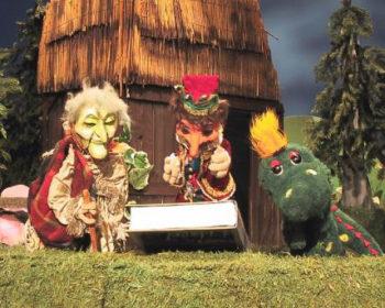 Die gute Hexe Trudi, Kasperl und Buffi