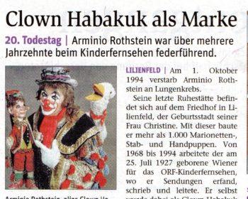NÖN zu Arminio Rothstein
