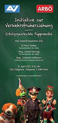 Initiative zur Verkehrsfrüherziehung - Erfolgsgeschichte Puppomobil | 15. April 2015, 09:30