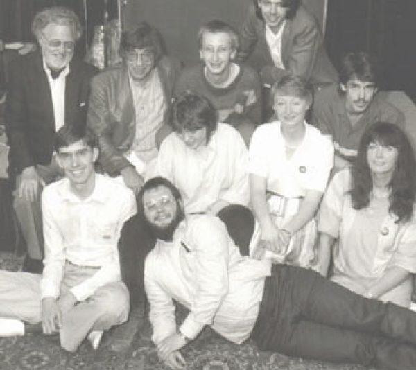 Theater Arlequin Team 1984. (C) Theater Arlequin Wien, Christine Rothstein