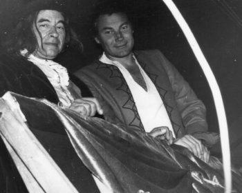 ORF Produktion: Wozu das Theater? - links: Arminio Rothstein, rechts: Klaus Maria Brandauer