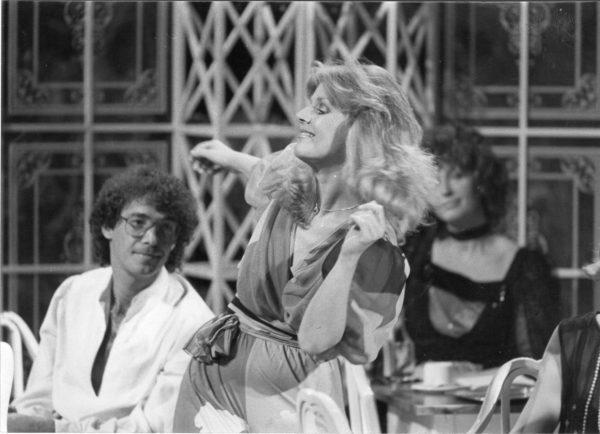 ORF Silvestershow 1985 mit Heidi Brühl. Foto: ORF