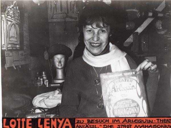 Theater Arlequin Wien Gast: Lotte Lenya
