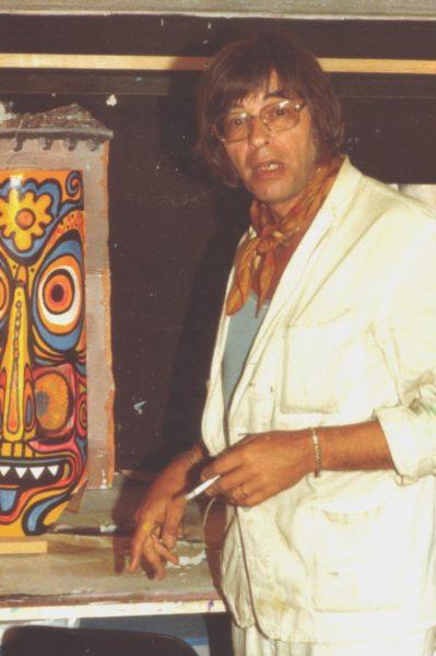 Arminio Rothstein, der Gründer des Theater Arlequin Wien