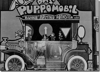 Die alte Puppomobil Bühne 1977/78