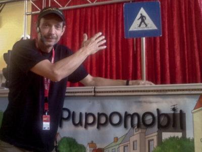 DI Gerald Meloun Moderator und Puppenspieler