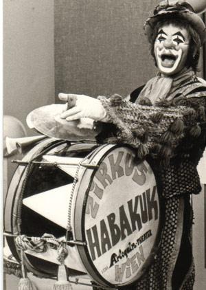 Clown Habakuks Puppenzirkus - Die Zirkustrommel