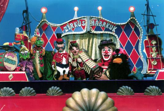 Clown Habakuks Puppenzirkus