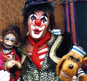Habakuk und die Puppen Tobias und Toby
