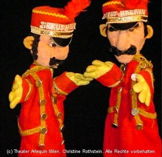 Hans und Franz, Zirkusdiener