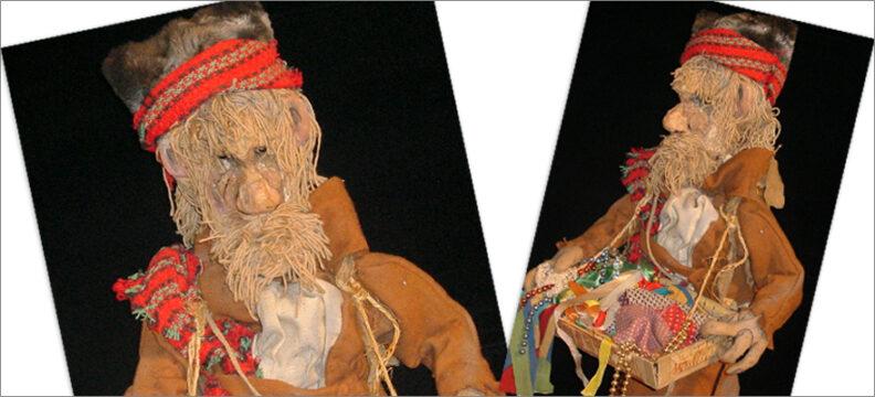 Wanderhändler Karl Bandlkramer erschaffen von Arminio Rothstein