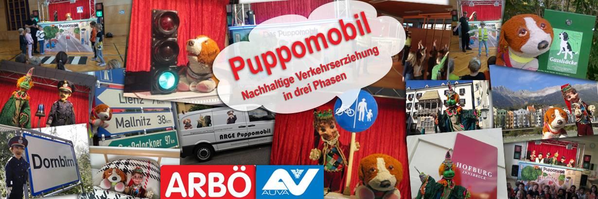 Puppomobil - Nachhaltige Verkehrserziehung in drei Phasen - mit Beteiligung des Theater Arlequin Wien und dem Kasperl