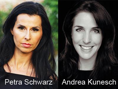 Neu im Puppomobil Team: Petra Schwarz und Andrea Kunesch