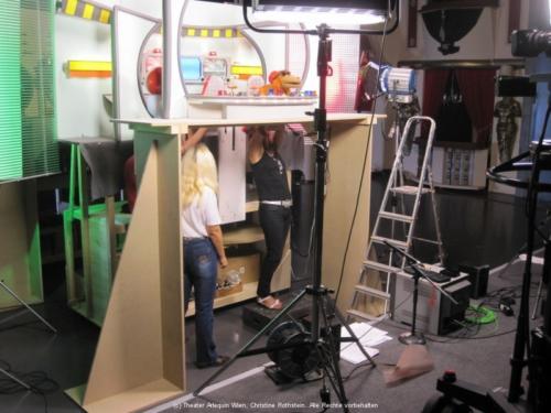 Im Helmi-Studio bei der Interspot