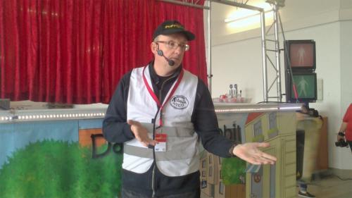 Markus Mitterhuber, Moderator und Puppenspieler